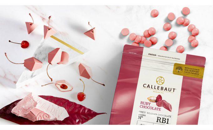 Callebaut RB1, el nuevo chocolate Ruby para maestros chocolateros y pasteleros