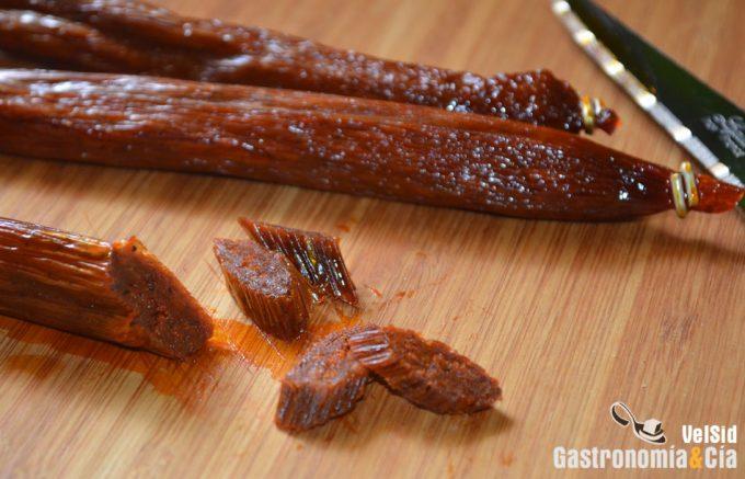 Chorizo de calabaza